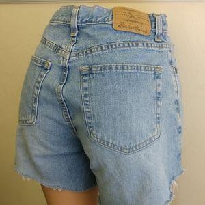 Mom high waisted jean shorts